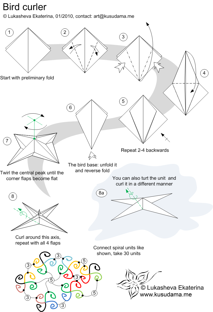 How To Make 3d Origami Triangle Pieces