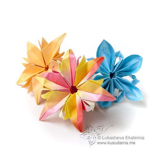 Bonnies craft origami anemone flower increasingly typical inside the nineteenth century still the japanese style western europe maintained its unique shape origami this is and also charm mightylinksfo