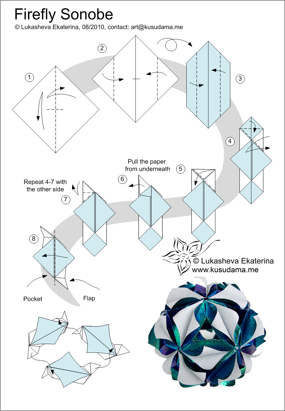 Modular Origami Diagrams Pdf Diy Enthusiasts Wiring Diagrams
