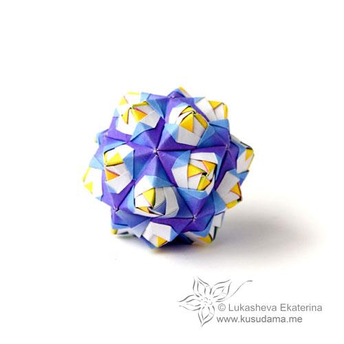 ArchGuide: Origami Tutorial: Sonobe unit and a glimpse into Sonobe ... | 500x500