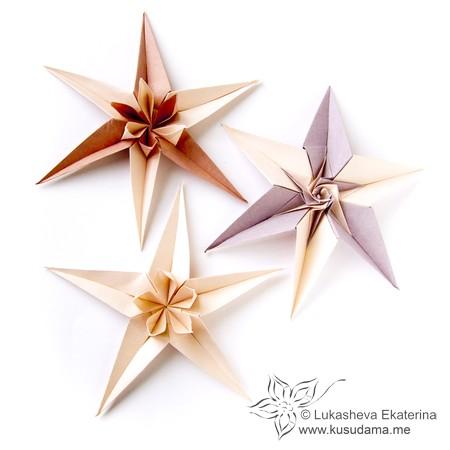 Kusudama me modular origami stars unit flowerstars mightylinksfo Images